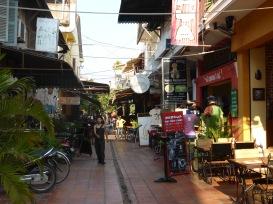 Siem Reap... tellement de belles petites rues.